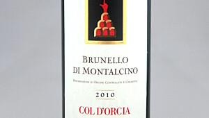 Col d'Orcia Brunello di Montalcino 2010