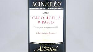 Valpolicella Classico Superiore Acinatico Ripasso 2012