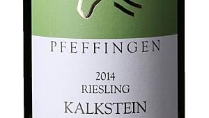 Pfeffingen Ungstein Herrenberg Kalkstein Riesling Trocken 2014
