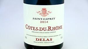 Delas Saint-Esprit Côtes-du-Rhône 2014
