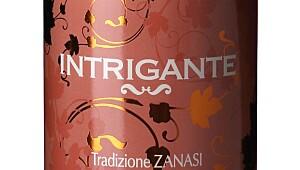 Zanasi Intrigante Lambrusco Frizzante Rosé 2015