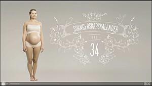 Gravid uke 34, se video