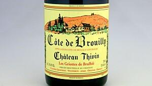 Ch. Thivin Cuvée Les Griottes Côte de Brouilly 2014
