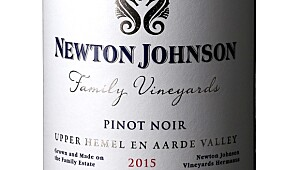 Newton Johnson Family Vineyards Pinot Noir 2015
