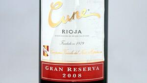 Cune Rioja Gran Reserva 2008