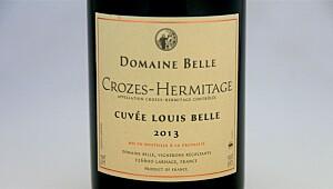 Crozes-Hermitage Cuvée Louis Belle 2013