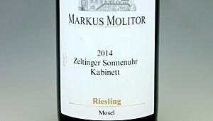 Markus Molitor Zeltinger Sonnenuhr Riesling Kabinett 2014