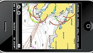 Fullverdige sjøkart på mobilen