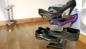 Skoene har funnet sin plass
