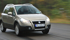 Fiat Sedici: Italia møter Japan