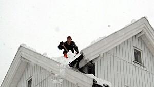 Ta taket før snøen gjør det