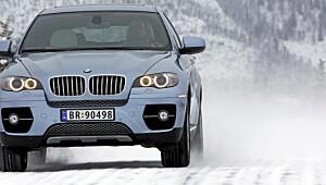 BMW ga oss elektrosjokk på vinterføre