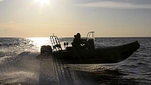 Forkledd solskinnsbåt