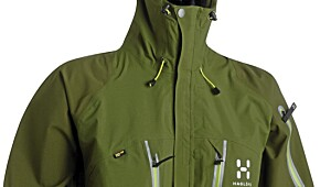 Hagløfs Creva jakke og Atom Bib