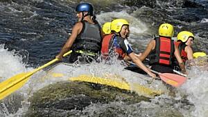 Rafting og klatring i Hardanger