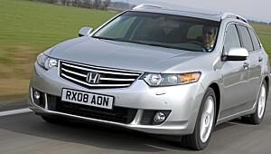 Kjøreglad familiebil fra Honda