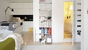 Smart innredning på 40 kvadratmeter