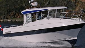 Turbåt med tæl