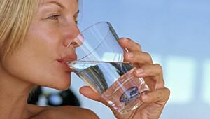 Velg vann som tørstedrikk