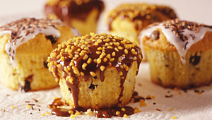 Slik lager du perfekte muffins