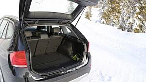 BMW X1 trives på vinterføre