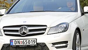 Denne Mercedesen er en drøm å kjøre