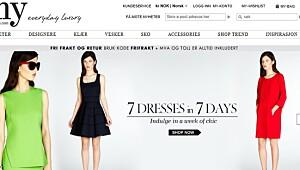 Test av nettbutikken My-wardrobe.com
