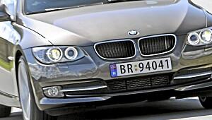 Herlig BMW skreddersydd for Norge