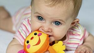 Utviklingen til babyen på 4 måneder