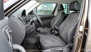 Enkel, oversiktlig og litt liten SUV