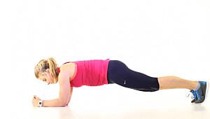 Denne øvelsen gir magemusklene sjokk