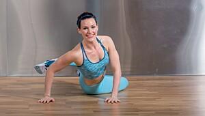 SE VIDEO: 5 øvelser som gjør deg sterk!