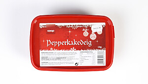 Coop pepperkakedeig