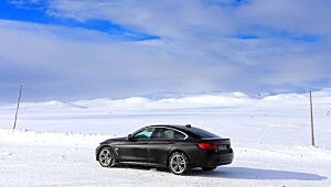 På Hardangervidda er BMWen i sitt ess