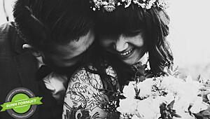 Milla gruet seg til bryllupet sitt