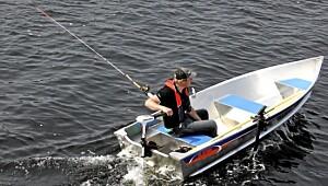 Superlett innsjøbåt