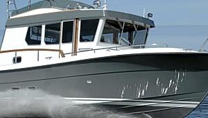 Targa med tøff langturbåt