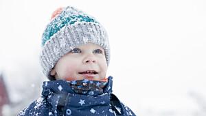 Slik behandler du frostskader hos barn