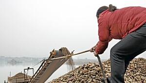 Mager lønn for steinhard jobb