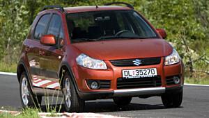Suzuki SX4 frisk mini-SUV