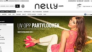 Test av nettbutikken Nelly.com