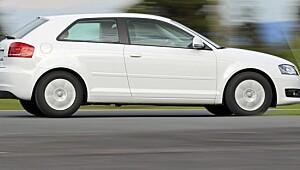 Her har Audi vært for gnien