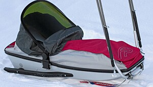 Fjellpulken Barnepulk med ski art. no 110