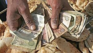 Penger kan spre svineinfluensa