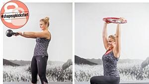 Få sterke lår og stram rumpe med disse øvelsene!