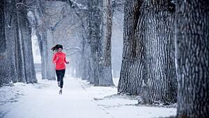 Løp ute om vinteren: Unngå å skli og skade deg
