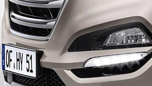 Her er de første bildene av Hyundais nye SUV