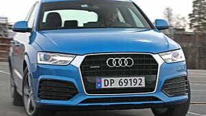 Test: Audi Q3 - en liten, snill SUV