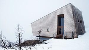 Arkitekttegnet hytte på vidda