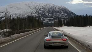 Porsche til Polarsirkelen